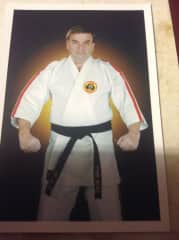 Photo of me about 15 years ago at a Karate Tournment