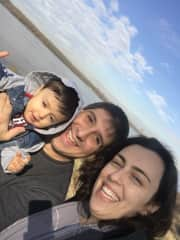 Our family at Mississippi River