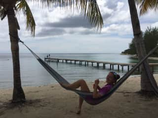 Chillin' in Utila, Honduras (2019)