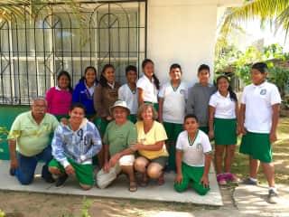 Volunteer teaching English in Mexico