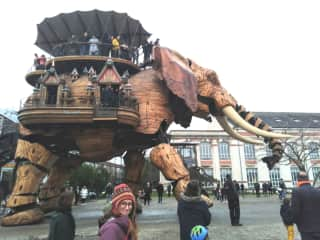 My recent visit to Les Machines in Nantes.