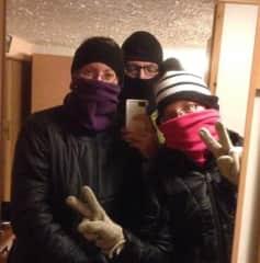 Jennifer, John, and Lydian in Iceland