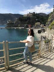 Visiting Cinque Terre, I love exploring new places and learning about new cultures :)
