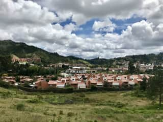 El Retiro, Population 24,000. 7000 feet elevation.