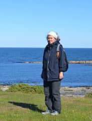 Walking the Northumberland coast