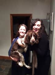 It seems Rosie, our family's much loved spaniel, shares the same hair style as Judith.