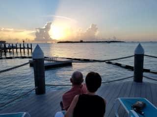 Seeking sunsets in the Florida Keys.