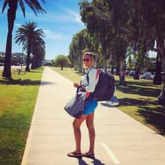 Traveling in Australia... just me and my backpack!