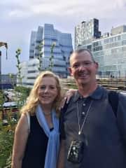 Sarah and Scott visiting NYC