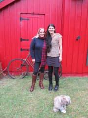 Me with friend in Oratia NZ