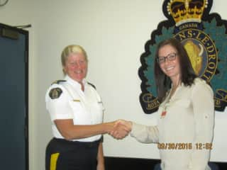 Being Sworn in RCMP Canada