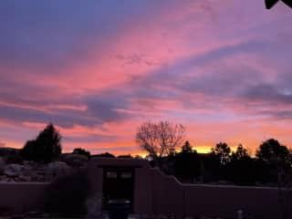 Sunrise front yard