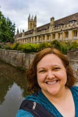 Visiting Magdelen College in Oxford, England during a house sit - C.S. Lewis lived and worked here!