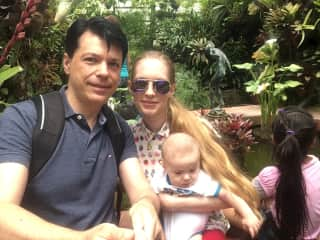 En los Jardines Ecologicos Topotepuy. Caracas, Venezuela