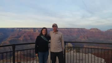 Derrick and Amy at the Grand Canyon.