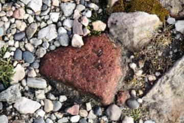 A heart on the beach...