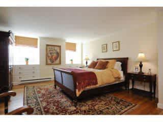 Master bedroom - decor has changed