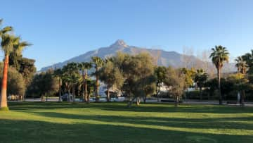 Our local mountain can be seen from the garden, pool and upstairs bedrooms and rooftop - La Concha can be walked up in 3 hours from the Ojen Road