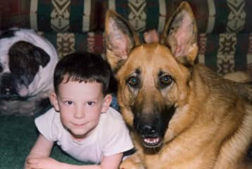 Rusty and my Son