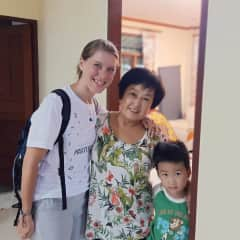 I tutor at homes and I have loved getting to know families from other cultures.