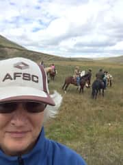 Me on a trail ride.
