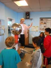Science with kids at the museum