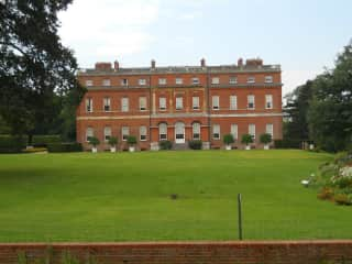 The lovely Clandon Park where Andy was a volunteer before the fire - heartbroken!