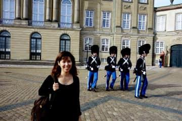 me in Denmark