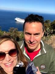 Catalina Island with Kirk
