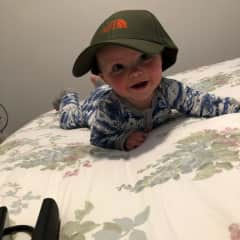 Our grandson Ruben