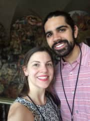 Margaret and Cayce (Mexico City - April 2019)