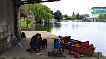 Canoeing the Upper Thames with Clyde  UK 2019