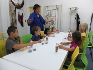 Teaching Craft Classes for Kids