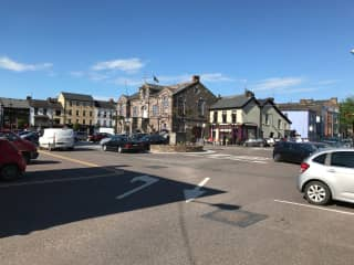 Village Centre of Macroom: Walking distance from our house (1.4km). We have a Farmer's Market every Tuesday morning plus we have two butchers, multiple bakeries and a new delicatessen. Four major grocery stores are also nearby.