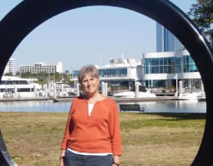 Here I am at Marina Jacks in Sarasota, Florida