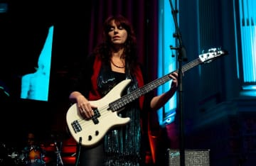 I am a Bass Player, here I am performing onstage at Brisbane City Hall