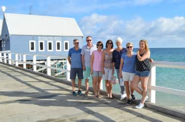 Family and friends on Busselton Jetty!