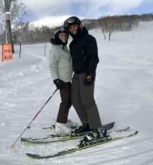 Shredding the slopes in Niseko, Japan!