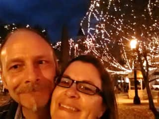 Me and my wife in St. Augustine FL.