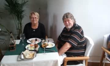 Shirley and Rob Drury