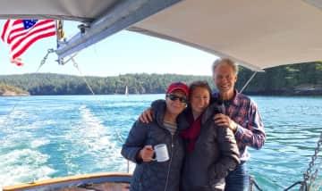 Salish Sea, San Juan Islands with our daughter - a favorite spot!