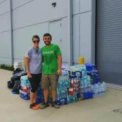 Giving back - volunteering in Houston after Hurricane Harvey.