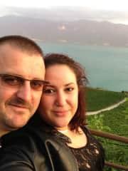 Joel and I, Switzerland, Summer 2013