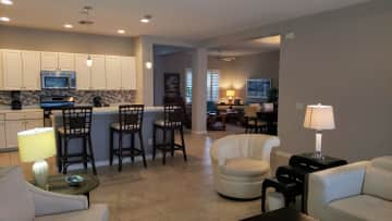 Another angle of open floor plan