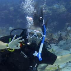 Scuba diving in Playa Del Carmen, Mexico