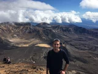"""Mt. Ngauruhoe (""""Mt. Doom""""), New Zealand"""