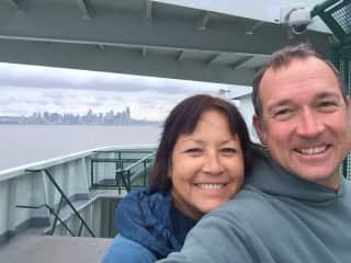 John and Lisa in Seattle