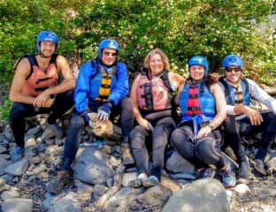 Whitewater rafting in Oregon!