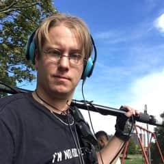 Sound tech for film