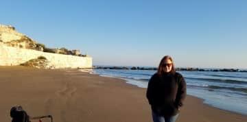 The Mediterranean Sea was like a dream.